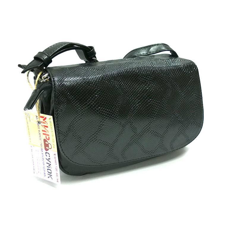 3009e7bf524f Сумка Lady 038, черная, питон. Цена, купить Сумка Lady 038, черная ...