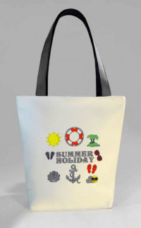 Сумка Shopper Bag №374, Summer Holiday