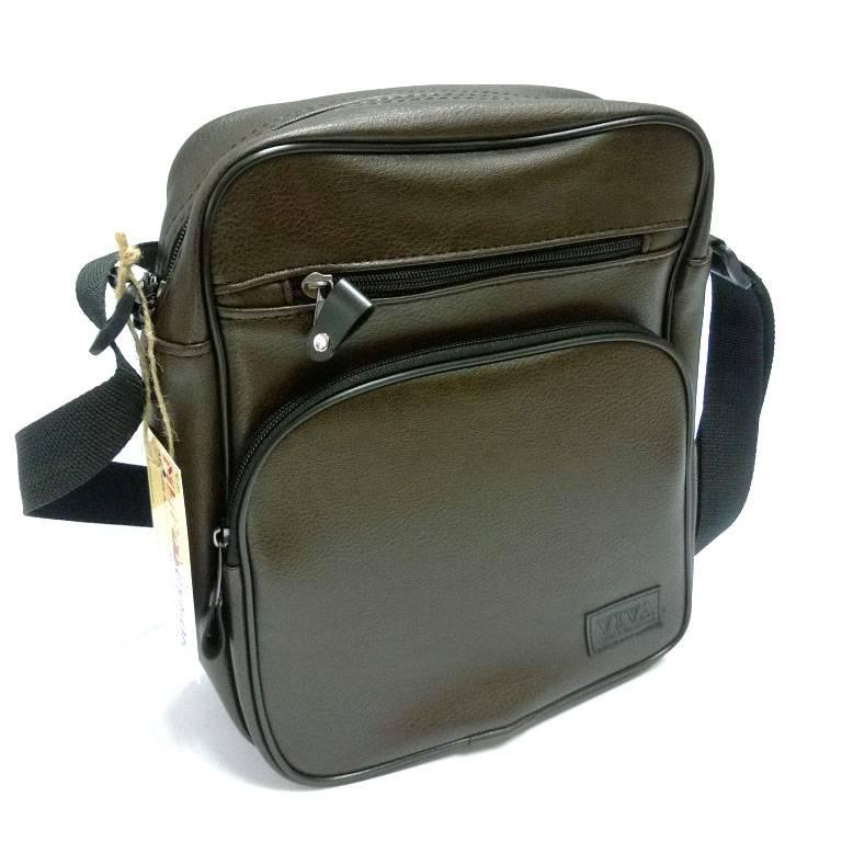 dd7747eb1adc Мужская сумка коричневая (500055). Цена, купить Мужская сумка ...