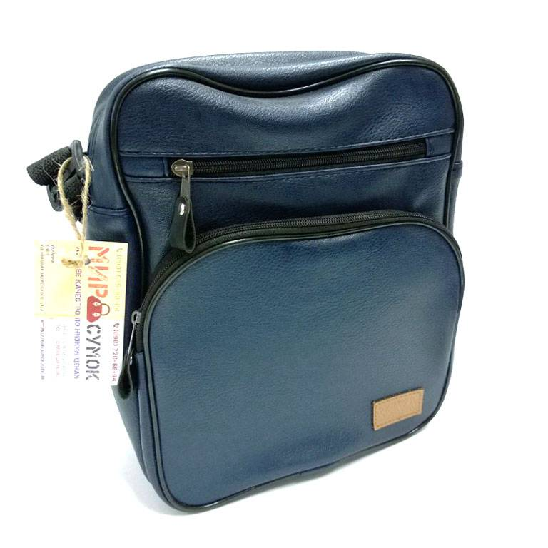 cafbf7fde5e0 Мужская сумка синяя (500056). Цена, купить Мужская сумка синяя ...