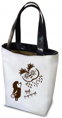 Сумка Shopper Bag №118, Ежик в тумане
