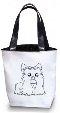 Сумка Shopper Bag №208, Чихуахуа