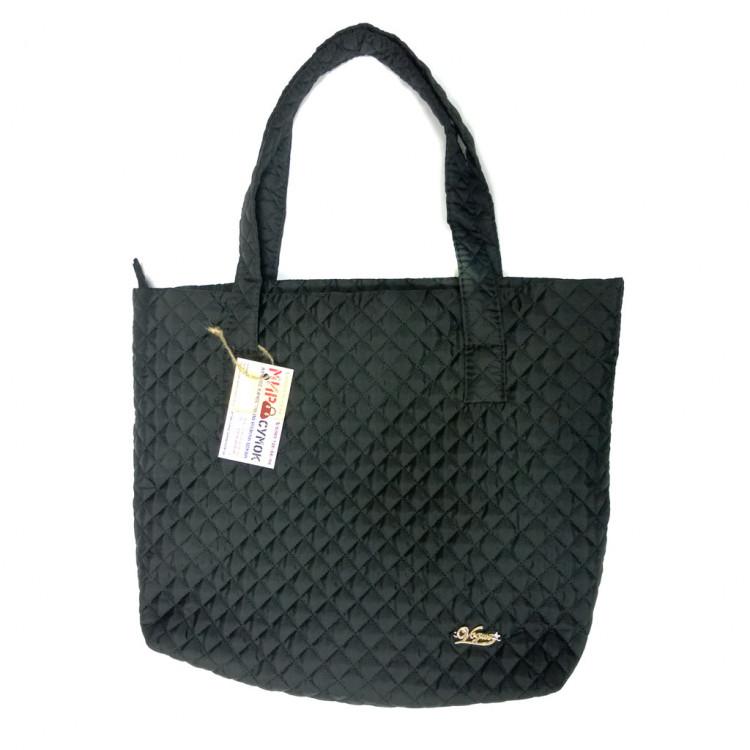 91ec137400d3 Стеганая сумка 016, черная - 295 грн. - купить в интернет-магазине ...