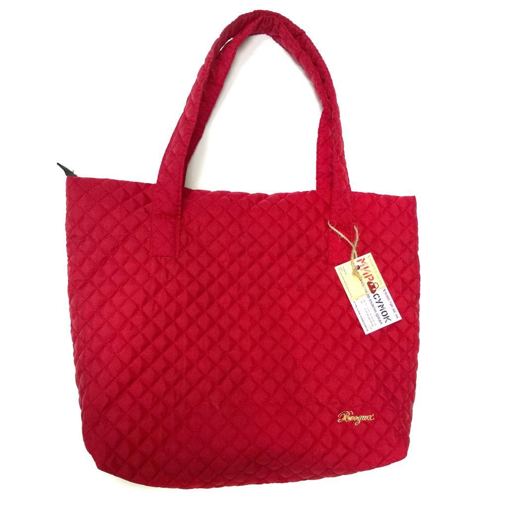 52b72deed7e0 Стеганая сумка 012, красная - 295 грн. - купить в интернет-магазине ...