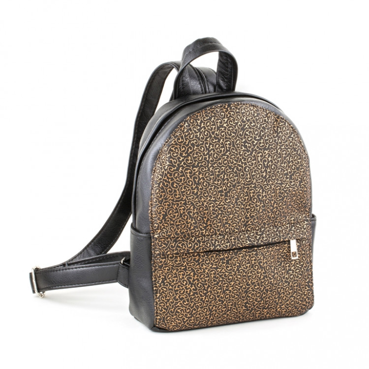 7b3520367ad2 Рюкзак Casual mini 29, черный, титан с золотым узором - 511 грн ...