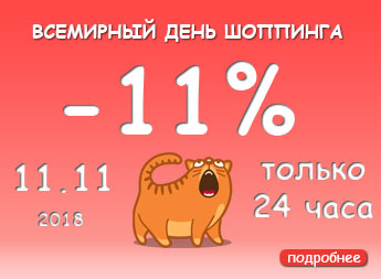 Дарим 11% в День Шоппинга 11 ноября